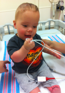 Colten at Mott Children's Hospital