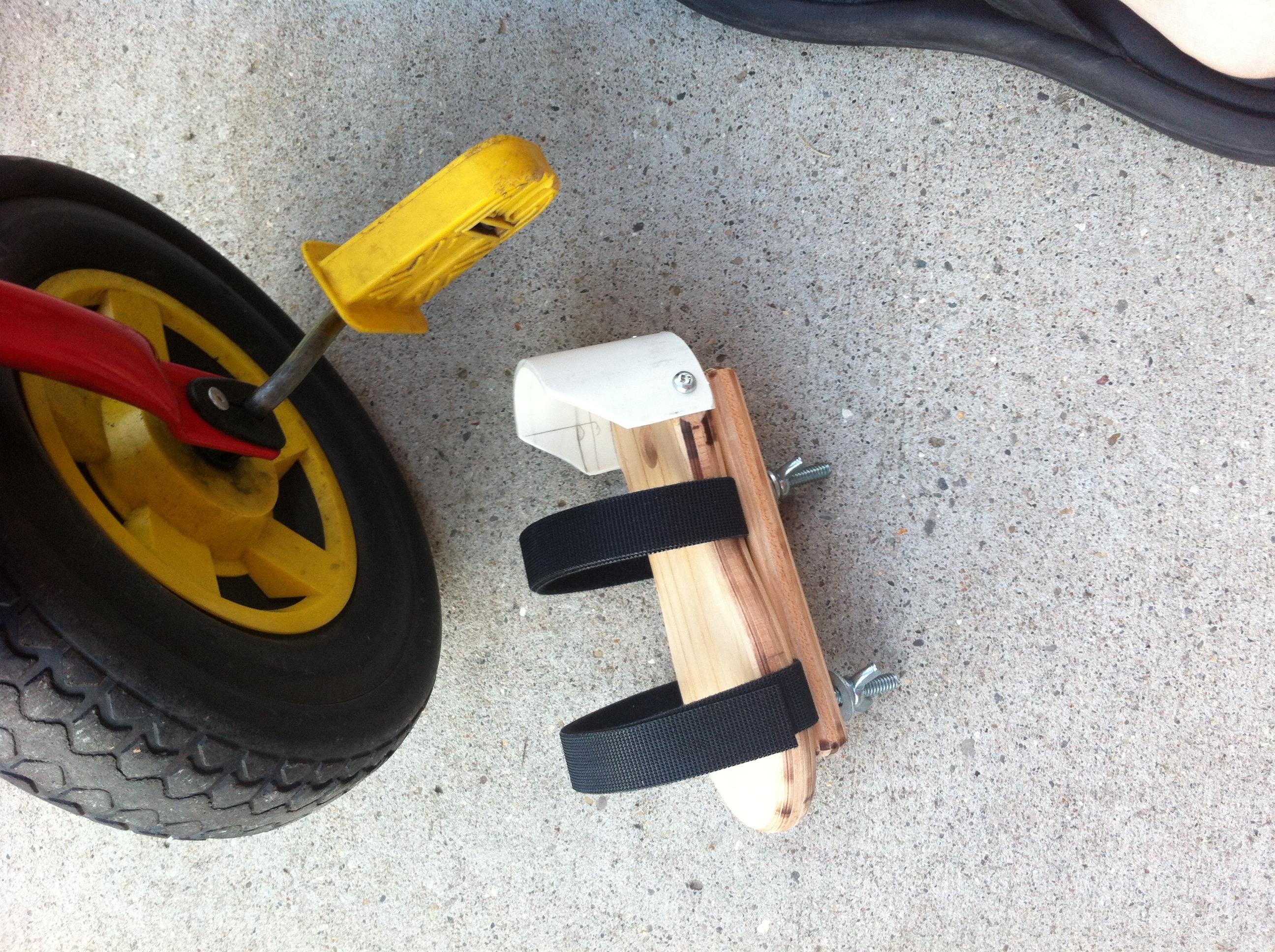 Do It Yourself Adaptive Pedals The Adventures Of Colten